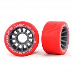 Kółka KRF Retro Classic - czerwone