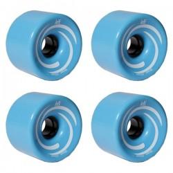 Kółka KRF do longboardów - niebieskie