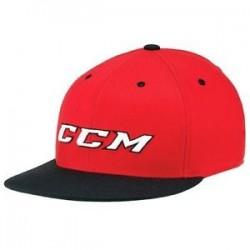 Czapka CCM - Cap Flat Brim Red