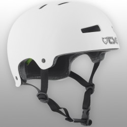 Kask TSG Evolution - White (połysk)