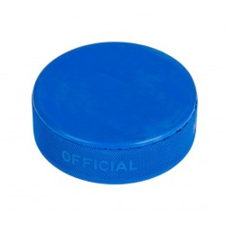 Krążek hokejowy - niebieski