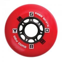 GYRO F2R - 4szt. (czerwone) 80mm/85A