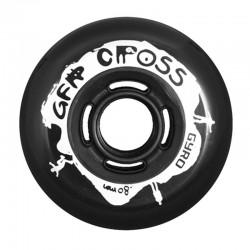 GYRO GRF CROSS - 4szt. (czarne) 80mm/88A