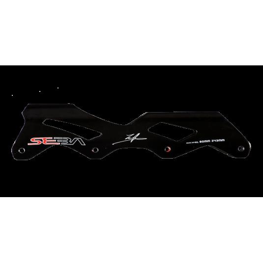 Szyna R1 - 255mm - czarna