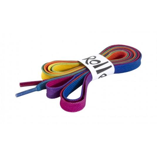 Tęczowe sznurówki