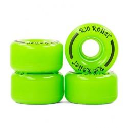 Kółka Rio Roller Coaster - zielone