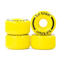 Kółka Rio Roller Coaster - żółte