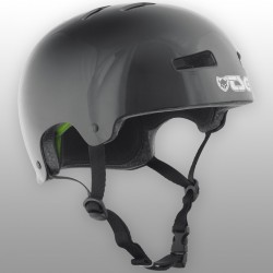Kask TSG Evolution Youth - Black (połysk)