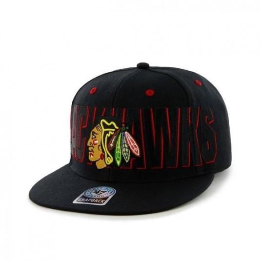 Czapka z daszkiem Snapback NHL - Chicago Blackhawks