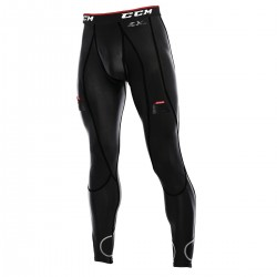 Getry z suspensorem SR - CCM Compression Pant