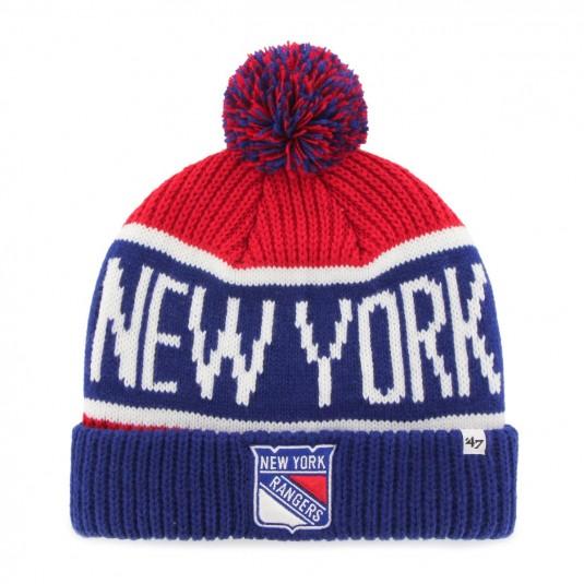 Czapka zimowa NHL - New York Rangers