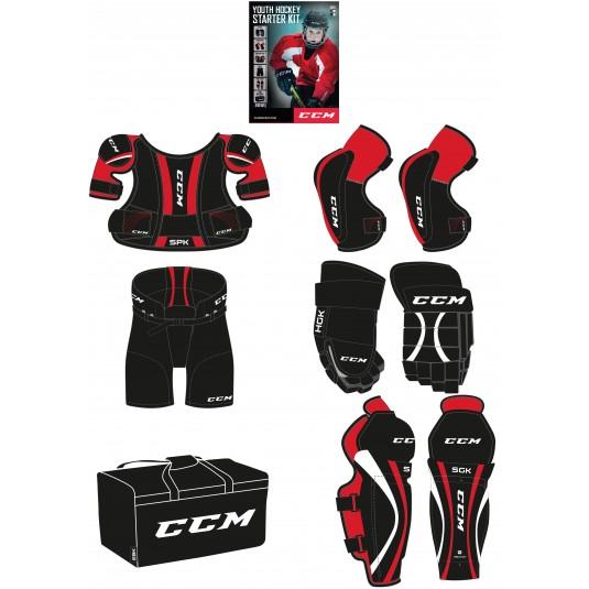 CCM Entry Kit - zestaw ochraniacy YTH
