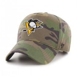 Czapka z daszkiem moro Snapback NHL - Pittsburgh Penguins