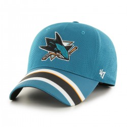 Czapka z daszkiem NHL - San Jose Sharks Jersey STRETCH FIT