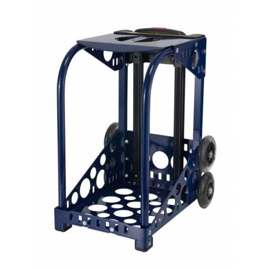 ZÜCA navy frame flashing wheels