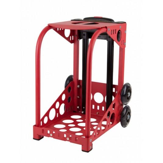 ZÜCA red frame - flashing wheels
