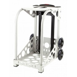 ZÜCA white frame - flashing wheels