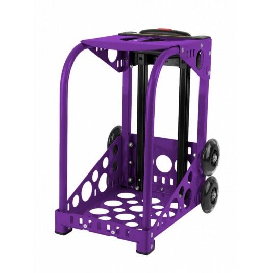 ZÜCA purple frame - flashing wheels
