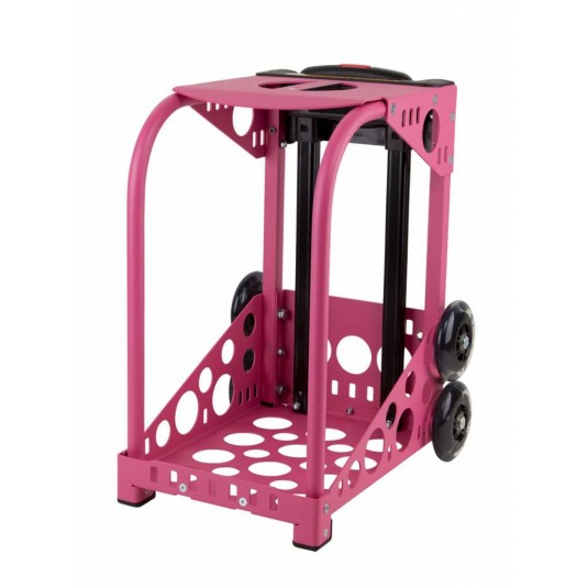 ZÜCA hot pink frame - flashing wheels