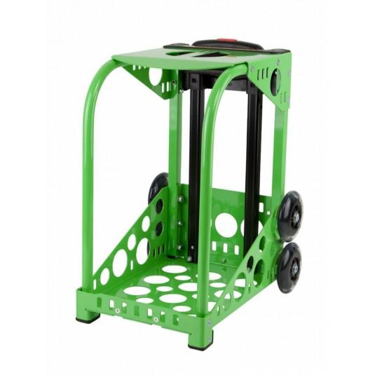 ZÜCA green frame - flashing wheels