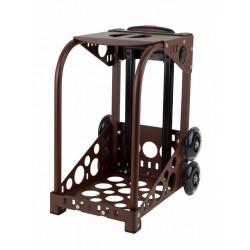 ZÜCA dark brown frame - flashing wheels