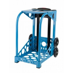 ZÜCA blue frame - flashing wheels
